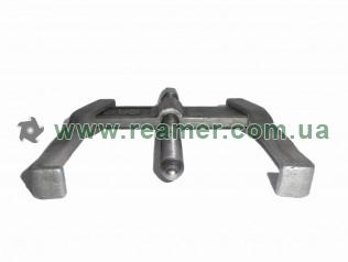 Mechanical bearing puller 85 mm straight two-arm reversible jaw