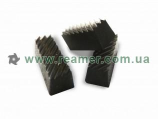 Carbide knives for valve seat cutters